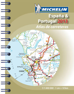 Mini Atlas Spain & Portugal: 2013 (BOK)