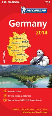 Germany 2014 National Maps 718 (BOK)