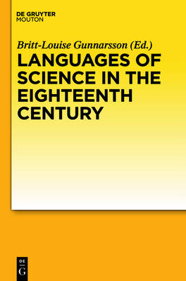 Languages of Science in the Eighteenth Century (BOK)