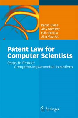Patent Law for Computer Scientists (BOK)
