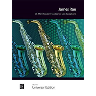 36 More Modern Studies for Solo Saxophone (BOK)