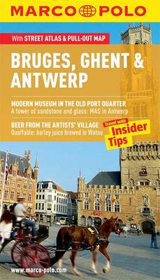 Bruges, Ghent & Antwerp Marco Polo Guide (BOK)