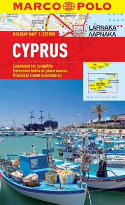 Cyprus Marco Polo Holiday Map (BOK)