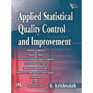 Applied Statistical Quality Control and Improvement (BOK)
