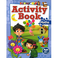 Activity Book: Maths Age 4+ (BOK)