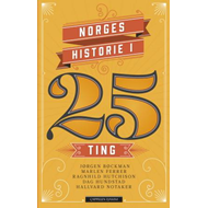 Norges historie i 25 ting (BOK)