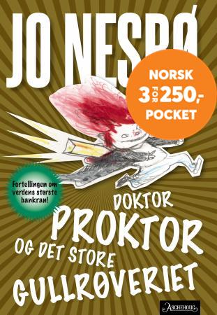 76159428 Doktor Proktor og det store gullrøveriet - fortellingen om verdens største  bankran!