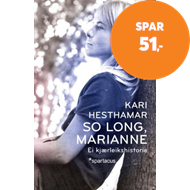 Produktbilde for So long, Marianne - ei kjærleikshistorie (BOK)