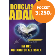Produktbilde for Ha det, og takk for all fisken - roman (BOK)