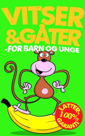 Vitser & gåter - for barn og unge (BOK)