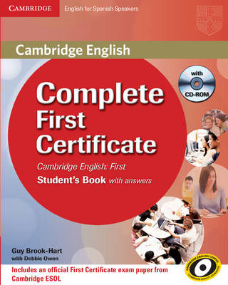 Complete First Certificate for Spanish Speakers Student's Book with Answers with CD-ROM (BOK)