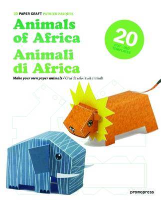 3D Paper Craft: Animals of Africa (BOK)