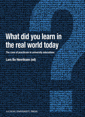 What Did You Learn in the Real World Today? (BOK)