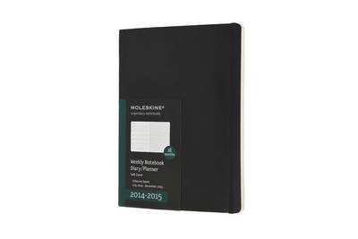 2015 Moleskine Extra Large Weekly Notebook 18 Months Soft (BOK)