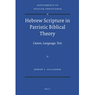 Hebrew Scripture in Patristic Biblical Theory: Canon, Language, Text (BOK)