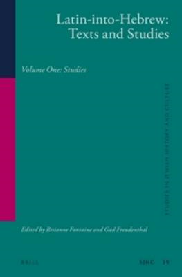 Latin-into-Hebrew: Texts and studies (BOK)