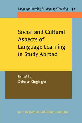 Social and Cultural Aspects of Language Learning in Study Abroad (BOK)