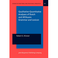 Qualitative-quantitative Analyses of Dutch and Afrikaans Gra (BOK)