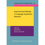 Experimental Methods in Language Acquisition Research (BOK)