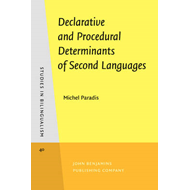 Declarative and Procedural Determinants of Second Languages (BOK)