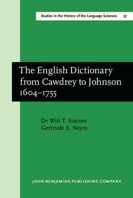 English Dictionary from Cawdrey to Johnson 1604-1755 (BOK)