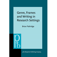 Genre, Frames and Writing in Research Settings (BOK)