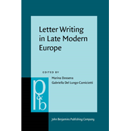 Letter Writing in Late Modern Europe (BOK)