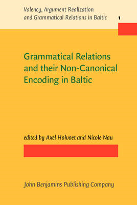 Grammatical Relations and their Non-Canonical Encoding in Ba (BOK)