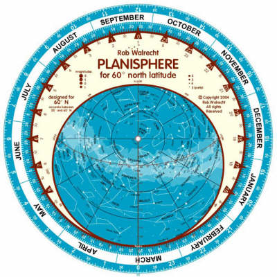 Planisphere for 60 Degrees North Latitude (English) (BOK)