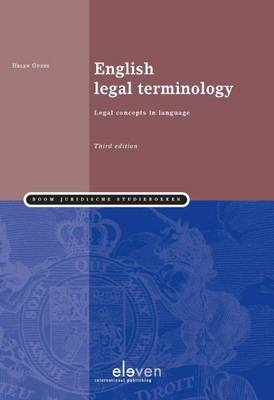 English Legal Terminology (BOK)