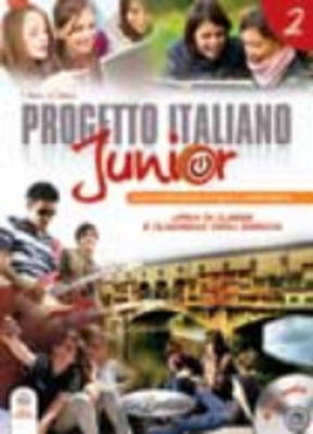 Progetto Italiano Junior: Libro + Quaderno + CD-Audio (Livello A2) (BOK)