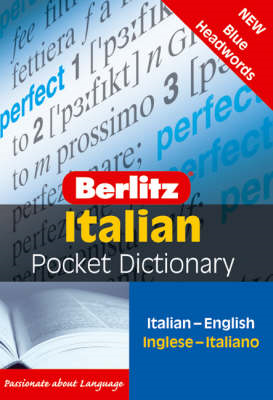 Berlitz: Italian Pocket Dictionary (BOK)