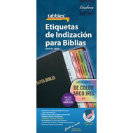 Spanish Rainbow Bible Indexing Tabs (BOK)