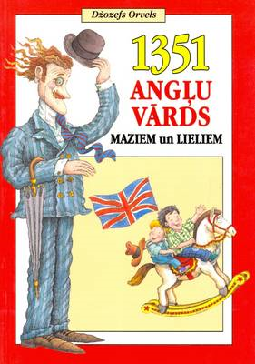 English-Latvian Children's Illustrated Picture Dictionary (BOK)