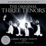 The Three Tenors - The Original Three Tenors 20th Anniversary Edition (m/DVD) (CD)