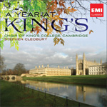King's College Choir, Cambridge - A Year At King's (CD)