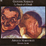 Produktbilde for Nadaud: (La) Bouche et L'Oreille (CD)