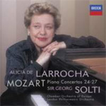 Produktbilde for Alicia De Larrocha - Mozart: Piano Concertos No. 24-27 (CD)