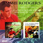 Sings Folk Songs / At Home With Jimmie Rodgers An Evening Of Folk Songs (CD)