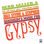 Jule Styne & Stephen Sondheim's Music For Gypsy (CD)