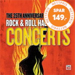 Produktbilde for Rock And Roll Hall Of Fame - The 25th Anniversary Concerts (4CD)