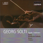 Produktbilde for Sir Georg Solti - Popular Symphonies (4CD)