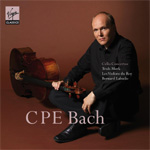 Truls Mørk - C.P.E Bach: Concertos For Cello And Orchestra (CD)