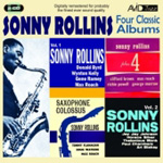 Produktbilde for Four Classic Albums (Sonny Rollins Plus 4/Sonny Rollins Vol.1/Sonny Rollins Vol.2/Saxophone Colossus) (2CD)