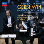 Gershwin: Rhapsody In Blue & Piano Concerto in F (CD)