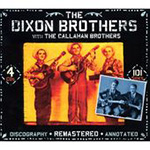 The Dixon Brothers With The Callahan Brothers (4CD)