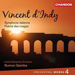 D'Indy: Orchestral Works, Vol 4 (CD)
