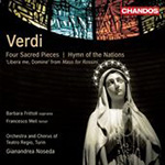 Verdi: Four Sacred Pieces (CD)