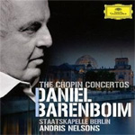 Produktbilde for Daniel Barenboim - Chopin: The Chopin Concertos (UK-import) (CD)