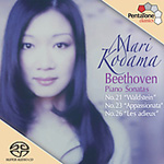 Beethoven: Piano Sonatas Nos 21; 23 and 26 (SACD - Hybrid)